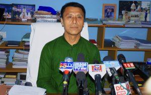 manipur education minister th radheshyam pic DIPR
