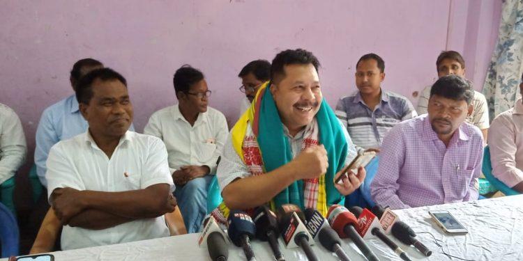 sarania press meet