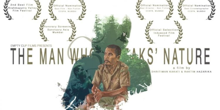 the man who walks nature