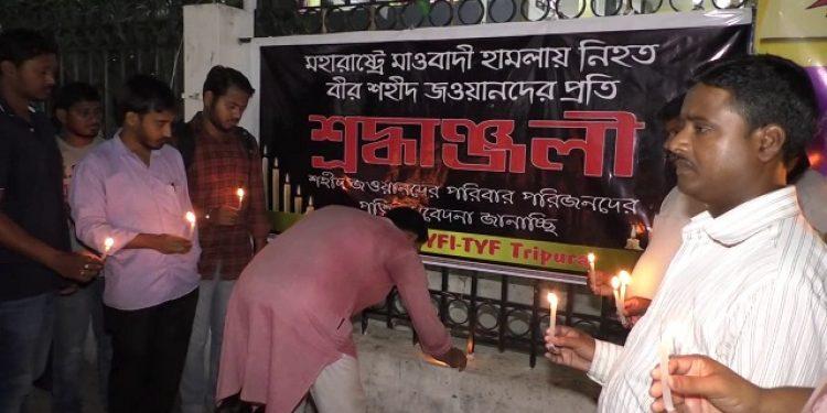 tripura cpi-m tribute to naxal martyrs