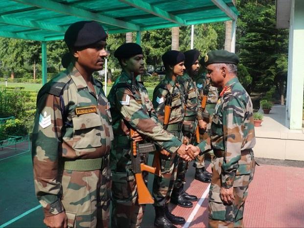 Assam: Vice chief of Army Staff Lt Gen Anbu visits Gajraj Corps HQ  1