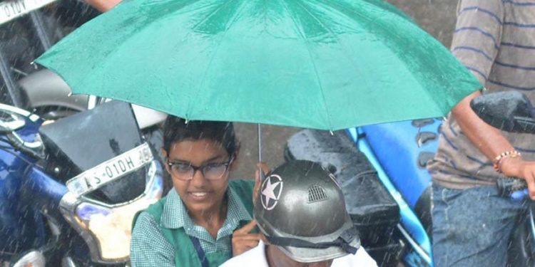 Rain in Guwahati