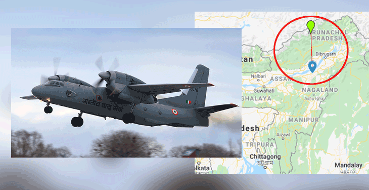 """Wreckage of """"missing"""" IAF aircraft located in Shi-yomi district of Arunachal Pradesh 1"""