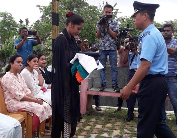 Wing commander MG Charles cremated at Jorhat with military honours 4