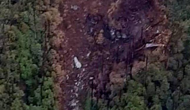 AN-32 crash site