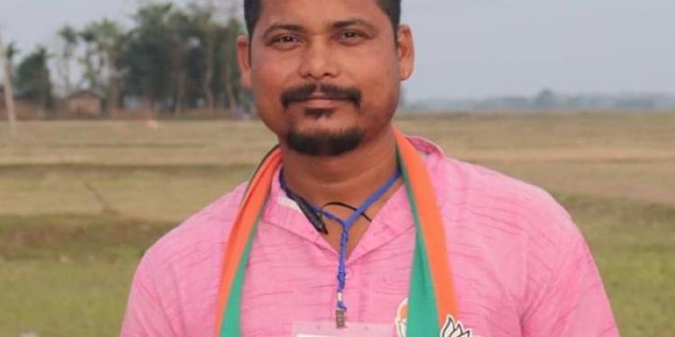 Arrested BJP IT Cell member Nitumoni  Bora