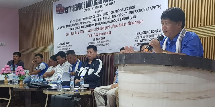 Members of the City Service Maxicab Association (CSMA) of Capital Complex region of Arunachal Pradesh on Wednesday took a pledge to abide by the laid down traffic rules.