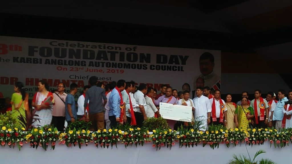Assam: Compensation of Rs 5 lakh distributed to Karbi martyrs' families   1