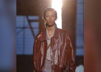 Assam's Kangkan walks the ramp at Milan Fashion Show Men's 2019 2