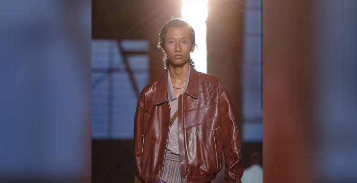 Assam's Kangkan walks the ramp at Milan Fashion Show Men's 2019 1