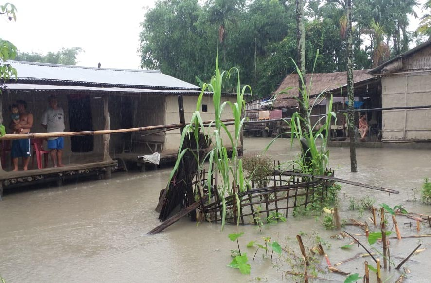 Over 5000 people affected by flash flood in Dhemaji 1