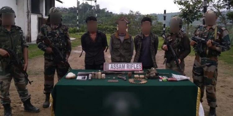 Arrested NSCN cadres (File image).
