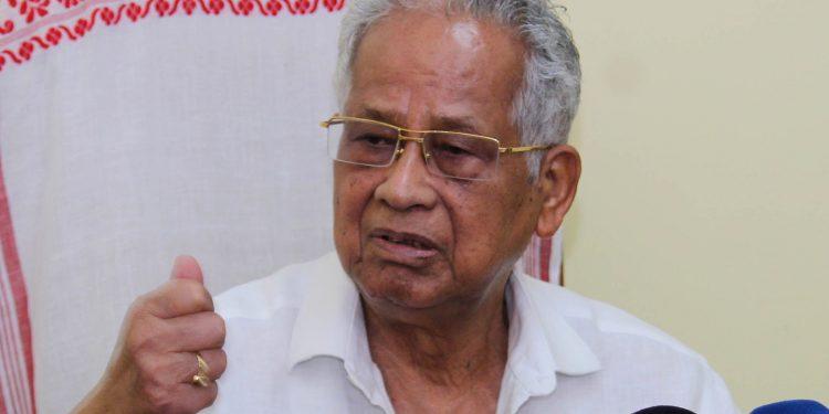 Former CM Tarun Gogoi. (File image)