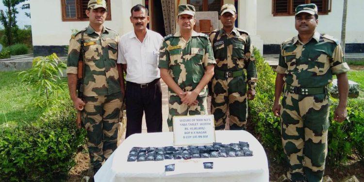 The seized Yaba tablets