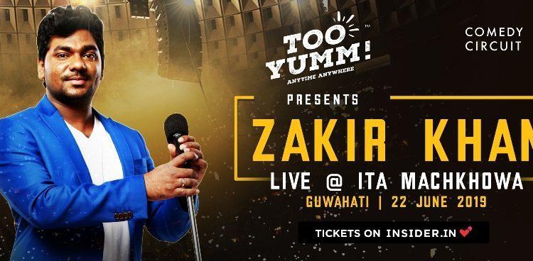 'Sakht Launda'- fame Zakir Khan to perform in Guwahati 1