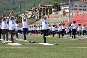 bhutan pm yoga 1