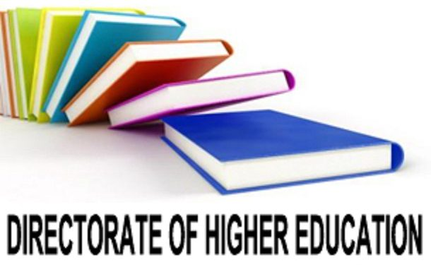 directorate of higher education