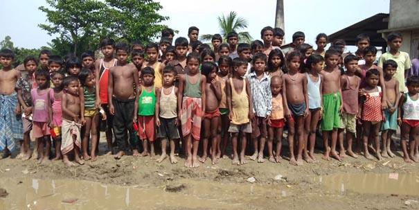 Evicted children