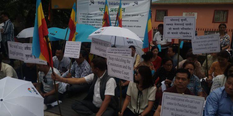sdf protest
