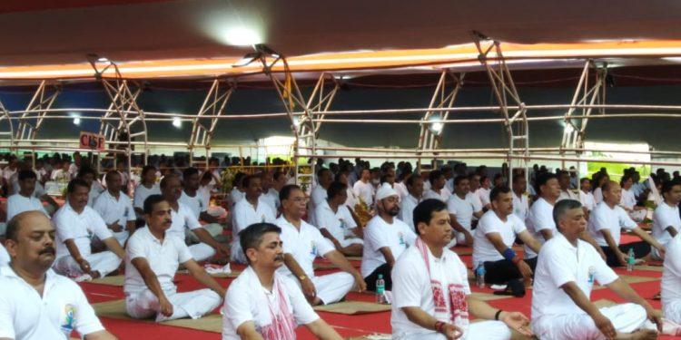 sonowal yoga