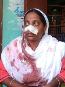 victim TET teacher Tasmina Begum.