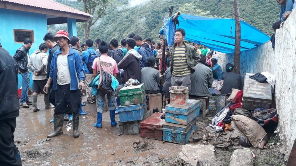 2 minor students killed, 2 hurt in landslide at Arunachal's Lumla 1