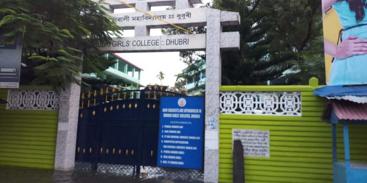 Dhubri Girls College, to where the inmates of Dhubri Jail have been shifted. Image credit - Northeast Now