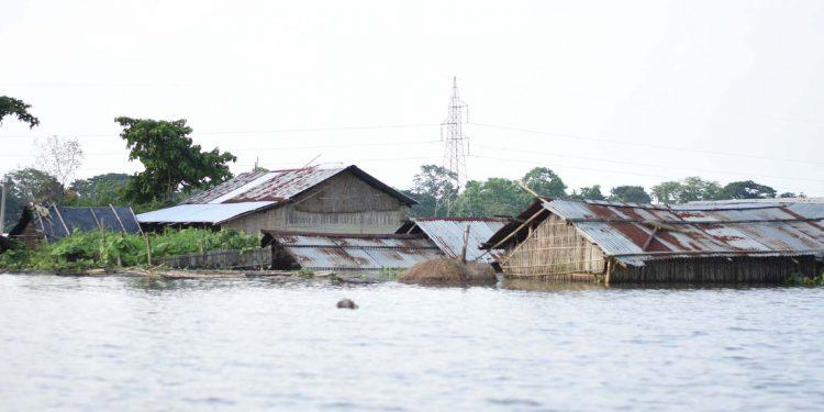 Assam flood. Image: UB PHOTOS