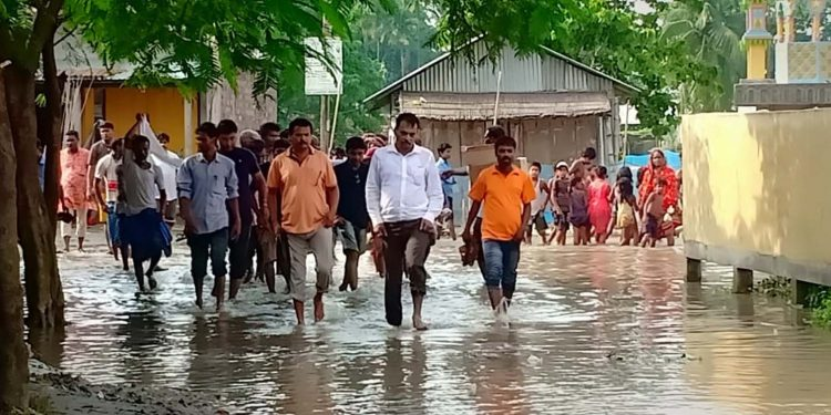 Dhubri flood