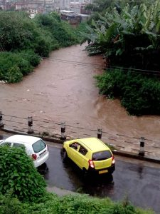Heavy downpour lashes Meghalaya; landslides cut off roads in Shillong   1