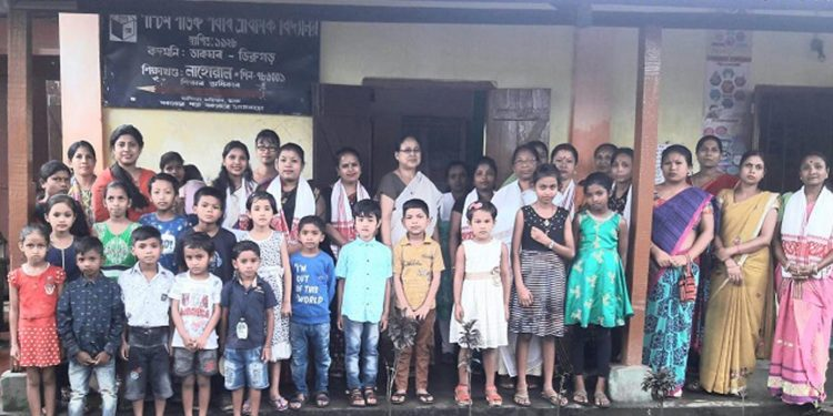 A view of the school where summer camp is being organised by UNICEF at Dibrugarh. Image credit - Northeast Now