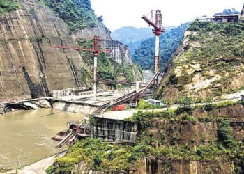 Lower Subansiri dam