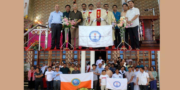 All India Catholic Union flag