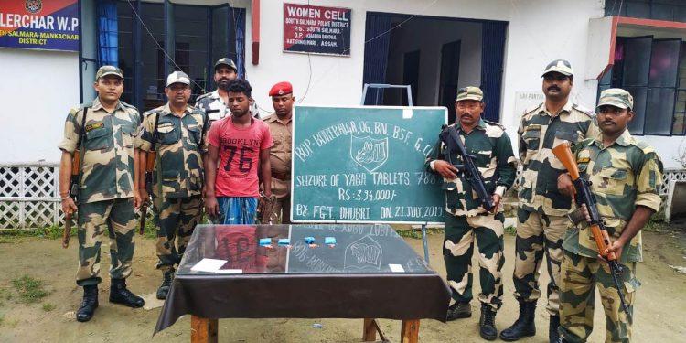 Arrested drug smuggler Kamaluddin