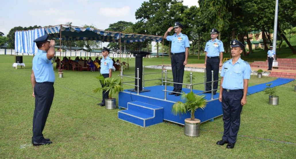 Assam: Change of guard at Air Force Station Digaru 1