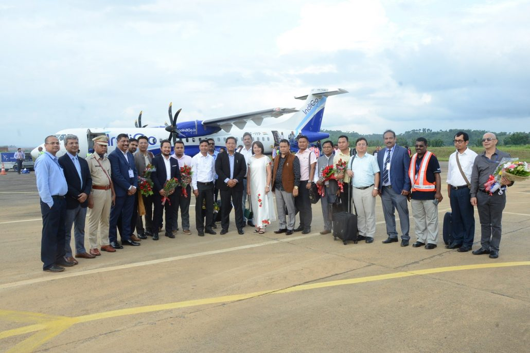 Indigo begins flight operations from Meghalaya's Umroi airport 1