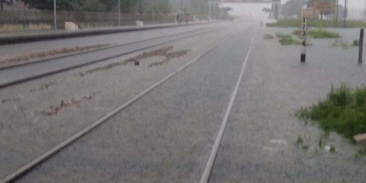 Rains on NFR track