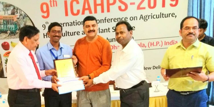 Assam Agricultural University faculty gets young scientist award 1