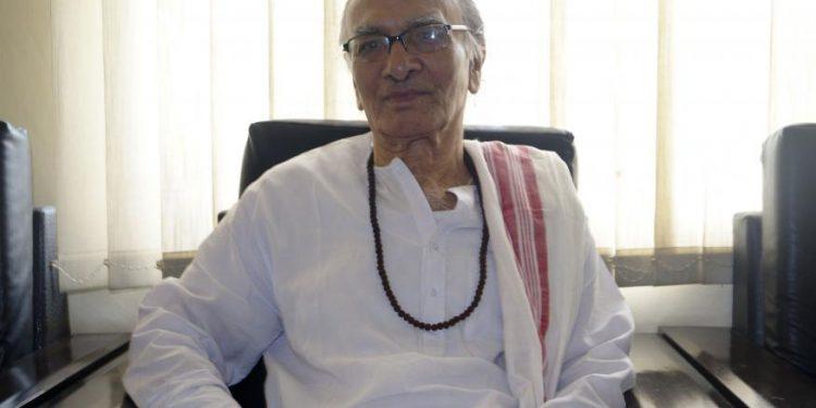 Acclaimed Sattriya dancer Jatin Goswami