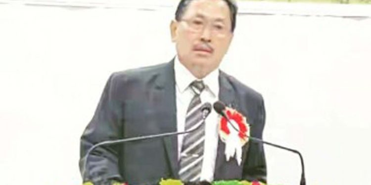 File image of K. Therie, Nagaland PCC president.