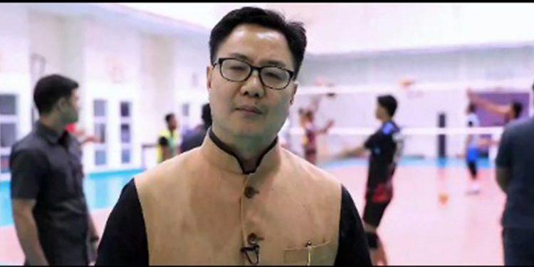 Union minister Kiren Rijiju. Image courtesy: Twitter