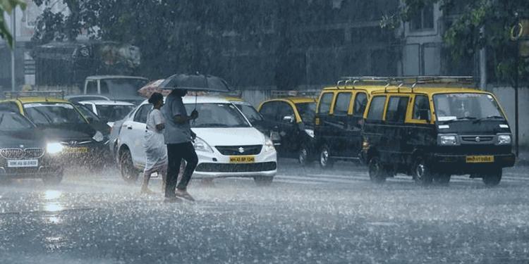 Rainfall in Mumbai, 2019