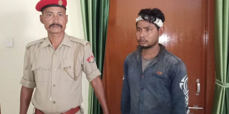 The arrested NDFB (S) rebel