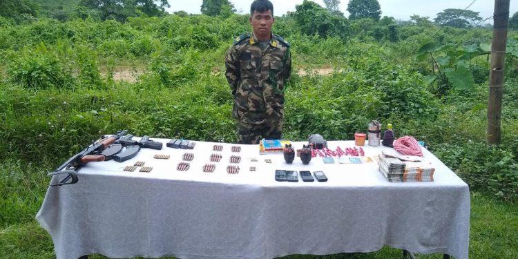 Self-styled Major of NSCN (IM) Anok Wangsa. Image credit - Northeast Now