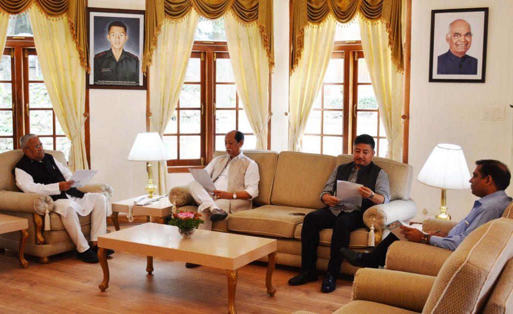JCPI, apex Naga tribal hohos resolve to support RIIN