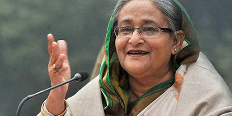Sheikh Hasina. File image credit - SheThePeople.TV