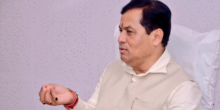 Assam chief minister Sarbananda Sonowal. File image credit - Twitter