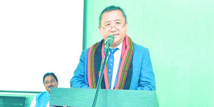 Nagaland chief secretary Temjen Toy. Image credit - Nagaland Post