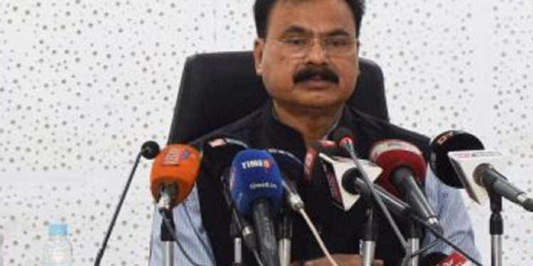 File image of Assam minister Chandra Mohan Patowary.