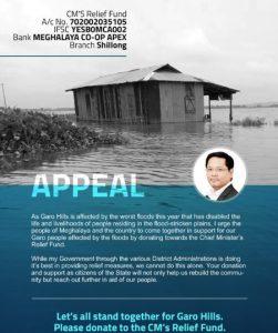 Meghalaya CM seeks contributions for flood victims through social media 3
